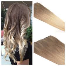 ombre hair extensions clip in ombre hair extension ombre hair from the hair affair