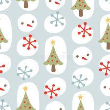 Hintergrundmuster Blau Nettes Weihnachtsnahtloses Hintergrund Muster Blau Vektor