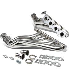 nissan titan long tube headers dna motoring headers sears