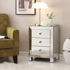 Accent End Table Safavieh Sullivan Silver Mirror Top End Table Fox2526a The Home