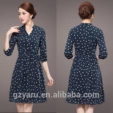 korean fashion knee length dresses casual official buy
