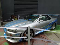 nissan skyline fast and furious 6 hollywood movie costumes and props original cars from the fast