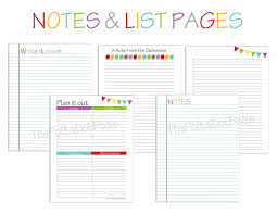 printable planner notes 29 images of day 7 weekly planner template helmettown com