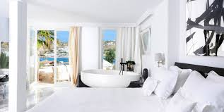 hotel kivotos mykonos elegant luxury boutique hotel ornos beach