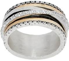 highway wedding band rings jewelry qvc