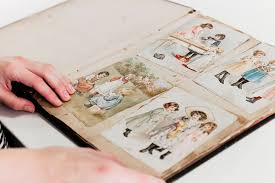photo albums with sticky pages the history of scrapbooking