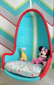 chair swings bedroom colorful choices of hanging chairs for your kids homesfeed