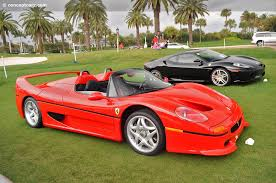 auction results and sales data for 1995 f50
