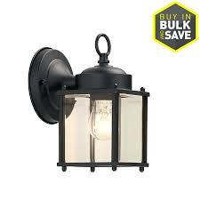 Outdoor Motion Sensor Light Home Depot - outdoor wall lighting black lights led uk exterior light with
