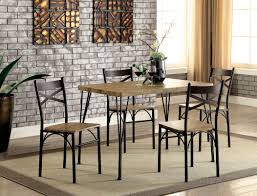 andover mills middleport industrial 5 piece dining set u0026 reviews