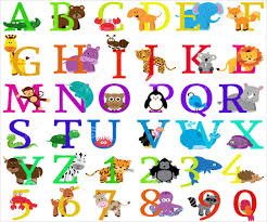 themed letters 8 animal alphabet letters free psd eps format free