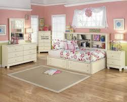 cottage retreat vintage casual wood bookcase storage bed room set