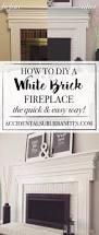 painting a fireplace white binhminh decoration