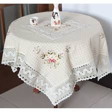 What Size Tablecloth For 60 Inch Round Table Aliexpress Com Buy Table Cloth Chinese Handmade Ribbon