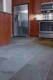 Harlequin Backsplash - contemporary kitchen remodel by renovisions stainless steel