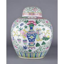 ginger jar chinese famille rose porcelain ginger jar