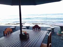 paradise palm beach bungalows east bali accommodation hsh stay