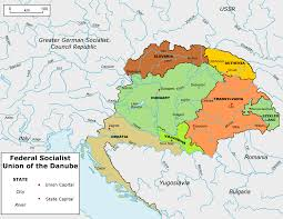 Germany Political Map by Map Union Of The Danube Greater Germany By Tiltschmaster On
