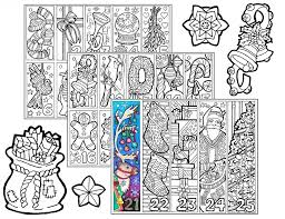 christmas mandala coloring snowflakes printable