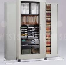 Tambour Door Cabinets Door Storage Cabinets Are Better Than Lateral Cabinets Open Shelving