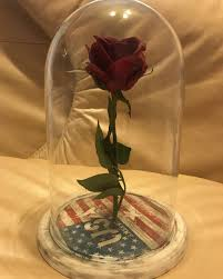 independence day beauty and the beast rose artificial flower