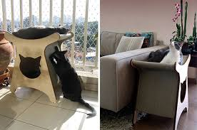 spectacular modern cat furniture from brazil u2022 hauspanther