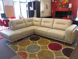 Almafi Leather Sofa Kuka Leather Sofa Sectional In Light Grey Scan Basics