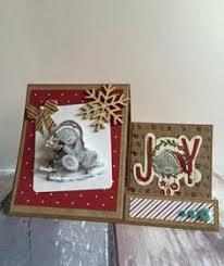 tatty teddy handmade card using products from trimcraft x teddy