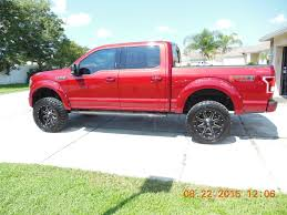 Old Ford Truck Lift Kits - 2015 ruby red xlt fx4 w pro comp 6