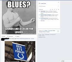 Indianapolis Colts Memes - my old usmc roommate huge indianapolis colts fan posted an nhl