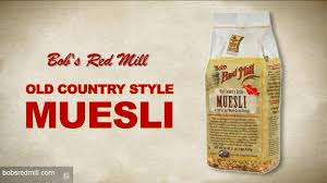 old country style muesli bob u0027s red mill youtube