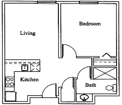 one bedroom floor plan floorplans veranda of pensacola