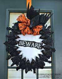 make a halloween wreath 31 ways to make a gorgeous wreath for your front door hometalk