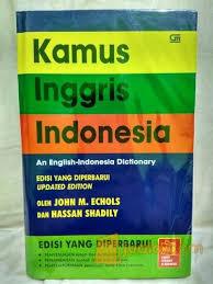 Kamus Bahasa Inggris Buku Kamus Bahasa Inggris Indonesia M Echols Jakarta Timur