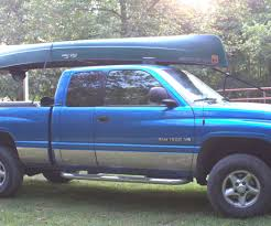 homemade truck bed build your own low cost pickup truck canoe rack