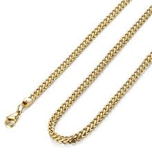 curb chain necklace mens images Fibo steel 3mm curb chain necklace for men stainless steel biker jpg