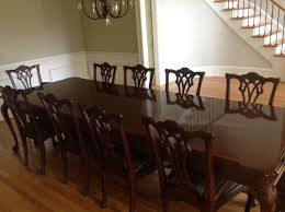 find more henredon dining room table with 2 leafs and 12 chairs