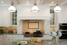 decor using custom range hoods for appealing kitchen decoration