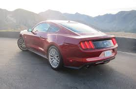 fastest stock mustang made 2016 mustang gt review the vintage you want