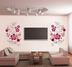 decoraciones en vinil para salas sala living pinterest items similar to flower wall decals large flower decal red flower vinyl decals on etsy