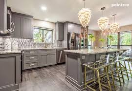 painting kitchen cabinets what is the cost to paint cabinets paintzen