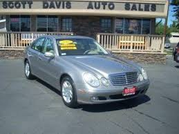 2003 mercedes e320 mpg used 2003 mercedes e class for sale pricing features
