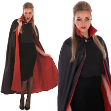 Vampire Cape Collared Black Cape