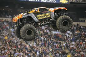 monster truck show in baltimore kane max d wins sunday afternoon at the dunkin u0027 donuts center to