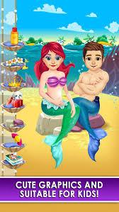 mermaid salon doctor kids games free app store