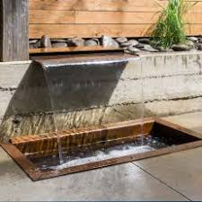 modern water feature photos hgtv