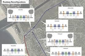 Map Diet Playa Del Rey Traffic Lanes Being Restored On Culver And Jefferson