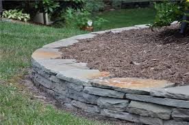 Retaining Wall Garden Bed by Retaining Walls