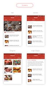 soillona recipes app with backend by wicombit codecanyon