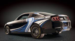 cobra mustang pictures ford mustang cobra jet concept gets turbo 5 0l v 8 debuts at